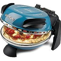 G3 Ferrari G1000604 Delizia Blue Four à pizza électrique Evo, bleu