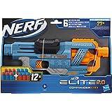 Hasbro Nerf Elite 2.0 - Commander RD-6 (blaster con tamburo rotante e 12 dardi inclusi)