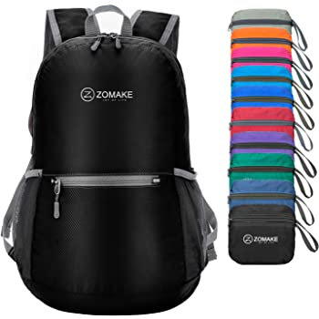 ZOMAKE Ultra Lightweight Foldable Backpack Water Resistant Hiking Daypack 3e40b4f679425