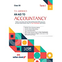 T.S. Grewal's An Aid to Accountancy for CBSE class 12 (Term1) 2021-22 Examination