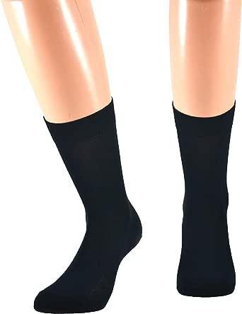 Fontana Calze, 12 paia di calze CORTE in puro cotone Filo di Scozia elasticizzate, confortevoli e rinforzate su punta e tallone. Prodotto Italiano.
