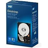 WD Blue 2 TB 3.5 pulgadas Disco Duro Interno, Clase de 5400 rpm, SATA 6 Gb/s, 256MB Cache