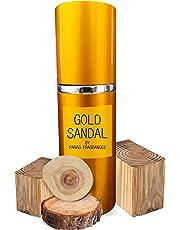 Parag Fragrances Natural Gold Sandal 60ml Extreme Lasting Sandalwood Attar Perfume Spray For Men & Women (Best Eau De Perfume Spray)