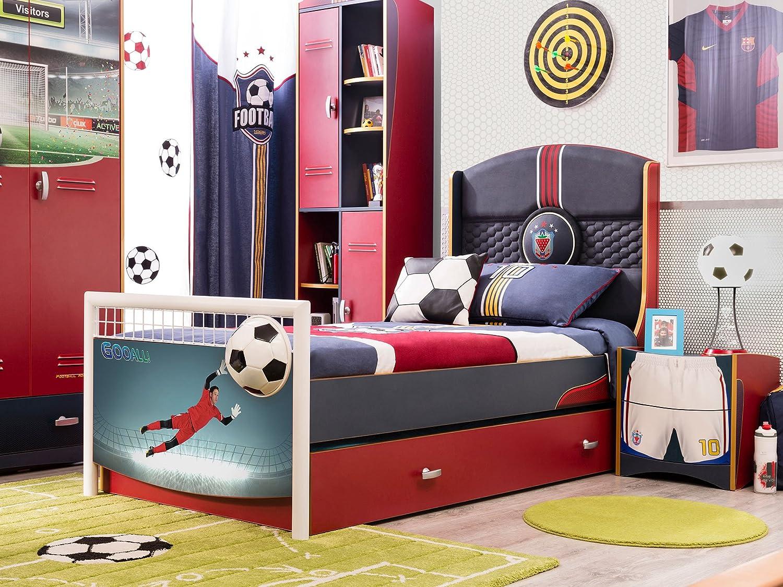 Cilek FOOTBALL Bett Kinderbett Fußballbett Kinderzimmer Fußball ...