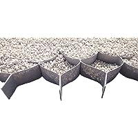 Stabilisateur de Gravier 5cm hauteur (10x10cm) - 1x10m - 10m2