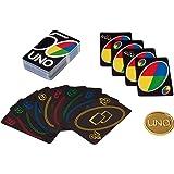 UNO Versione Premium, Gioco di Carte per la Famiglia, 7 anni,GXJ94
