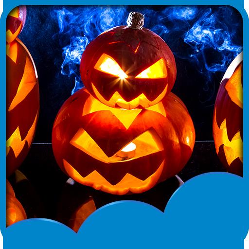 Halloween Live Hintergrundbilder (Live Wallpaper Halloween-kürbis)