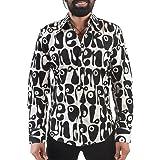 Chenaski -  Camicia Casual - Classico - Maniche Lunghe - Uomo