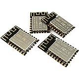 AI-THINKER 4 Piezas Módulo ESP8266 12F WiFi