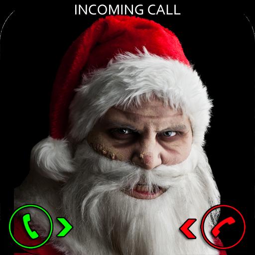 Evil Santa Prank Call (Halloween Scary Face App)