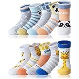 Adorel Calcetines Algodón para Niños Paquete de 10