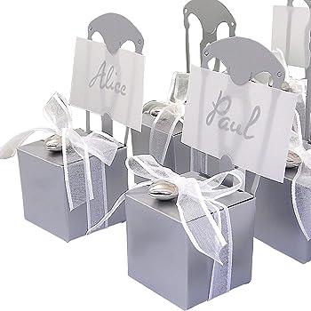 Tischkartenhalter Gabel 8,6 cm Tischkarten Gastgeschenk Hochzeit Party