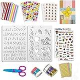 50 pièces accessoires de scrapbooking autocollants autocollants d'album photo amour bricolage conception agenda cartes décora