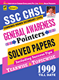 KIRAN'S SSC CHSL GENERAL AWARENESS POINTERS YEARWISE & TOPICWISE 1999–TILL DATE – ENGLISH