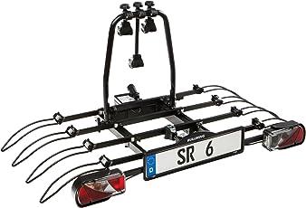 Bullwing SR6 Fahrradträger für Anhängerkupplung, Heckträger mit Schnellverschluss, Abklappmechanismus, Diebstahlschutz