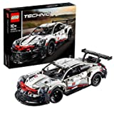 LEGO Technic Porsche 911 RSR, Sviluppata in Collaborazione con Porsche, Autentico Modello, Set di Costruzioni per Ragazzi di 10 Anni e Veri Appassionati di Automobili e Motori, 42096