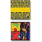 Happy Socks Queen Caja De Regalo Calcetines De 4 Paquetes, Rojo/negro/amarillo/azul