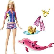 Barbie FBD63 - Magie der Delfine Barbie und tierische Freunde