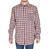 True Face Mens Check Shirt Long Sleeve Flannel Lumberjack Lightweight Causal Work Wear