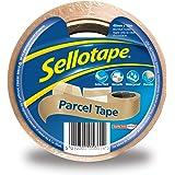 Sellotape Pakket Tape, Bruine Tape voor Verpakking, Hoog-Strength Verpakkingstape voor Professioneel & Officieel gebruik, Ver