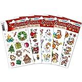 Herma 15502 - Pegatinas decorativas (5 paquetes), diseños navideños