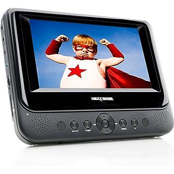 nextbase nb48 tragbarer dvd player 17 8 cm 7 zoll inkl. Black Bedroom Furniture Sets. Home Design Ideas