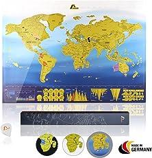 Amazy Rubbel-Weltkarte
