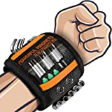 Gifts for Men Dad Magnetic Wristband - DIY Tools Belt Holding Screws Gadgets for Men Gifts, Secret Santa Gifts Christmas Stoc