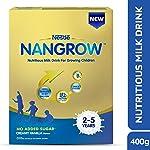 Nangrow Nutritious Milk Drink for Growing Children (2-5 years), Creamy Vanilla, 400g
