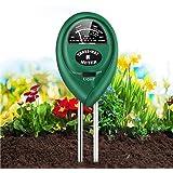 Soil PH Meter, 4-In-1 Soil Tester, Soil PH Tester Digital, Plant Soil Testing Kit with Moisture/Light/PH, Suitable for Lighti