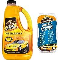 Armor All Ultrashine Wash and Wax, 1888 ml with Jumbo Sponge