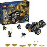 LEGO 76110 Super Heroes Attack Batman and Talon Fighters Minifigures, Ace the Bat-Hound Figure plus Motorbike Vehicle Building Set, DC Toys for Kids