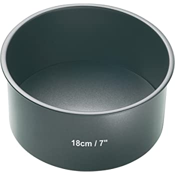 Kitchen Craft Master Class Non-Stick Loose Base Deep Cake Pan- Round 18 cm