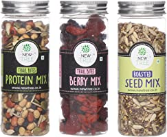 New Tree Trail Bites Protein Mix, Trail Bites- Berry Mix, Roasted Seed Mix (NTC17CMB071) - Set of 3