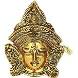 Kratidecor Goddess Durga Wall Hanging Aluminium Showpiece