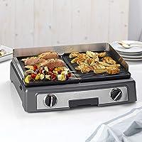 Cuisinart PL50E Plancha BBQ Elite, Large surface de grill, 2200W, acier inoxydable