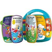 Fisher-Price CDH40 - Lernspaß Liederbuch Baby Spielzeug zum Lernen von Buchstaben, Zahlen und Formen, Spielzeug ab 6…
