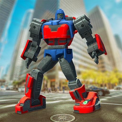 Grand Futuristic Robot Battle 3D (Transformers-spiele Kostenlos)