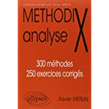 MéthodiX Analyse 300 Méthodes 250 Exercices Corrigés