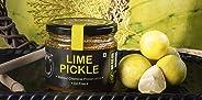 ZAAIKA Lemon Pickle Oil Free Home Made Nimbu Achaar No Preservatives - 200 Grams
