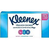 Kleenex Dagelijks veilige zakdoeken, 3-laags, voor dagelijks gebruik, 1 verpakking à 140 doeken