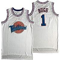 Maglia da basket da uomo, motivo: Bugs 1 Michael 23 Space Jam