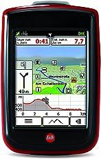 Falk Fahrradnavigationsgerät IBEX 32, 3 Zoll Touchscreen, Premium Outdoor-Karte und Basiskarte Plus (EU 25) zum Tourenradfahren, Wandern und Geocaching