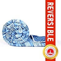 Divine Casa Microfiber All Weather Lightweight Single Comforter/Blanket/Quilt/Duvet, Abstract - Blue (110 GSM)