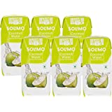 Amazon Brand – Solimo Coconut Water Enriched with Vitamin C, 200ml (Pack of 6)