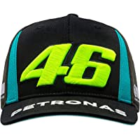 VR46 Petronas 46 Yamaha, Cappellino Regolabile Bambino, Black, Taglia Unica