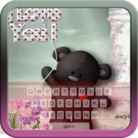 Teddy Bear Keyboard Theme Free Themes Backgrounds Wallpapers Icons Decor Customization
