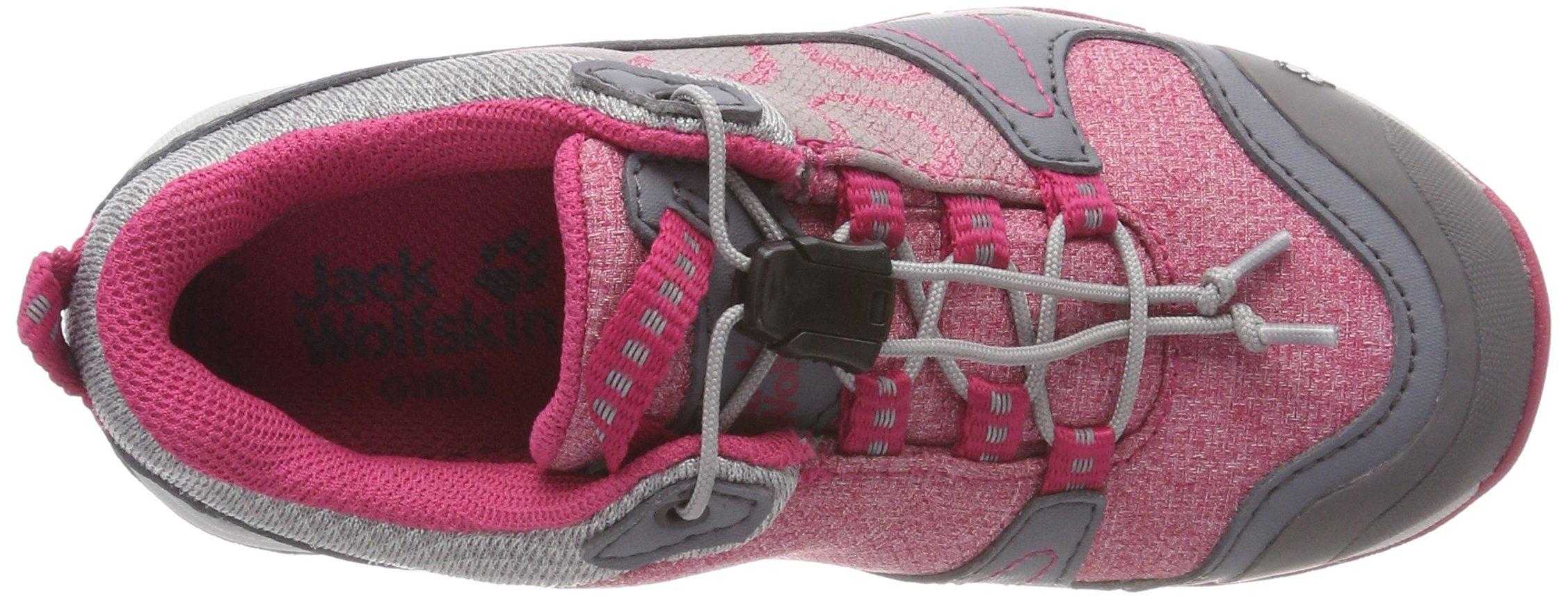 Jack Wolfskin Girls Grivla Texapore Low G Wasserdicht Rise Hiking Shoes 7