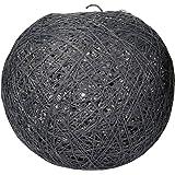 Lum & Co Écran Suspension en forme de boule, gris foncé, 20x 19x 20cm