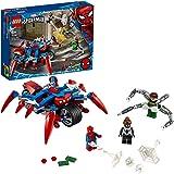 LEGO 76148 Marvel Super Heroes vs. Doc Ock, mit Spider-Girl Superhelden-Spielset mit 3 coolen Minifiguren und Spider-Mans Motorrad tolles Bauspielzeug als Geburtstag-oder Weihnachtsgeschenk für Kinder